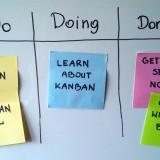 Simple-kanban-board for Software Development team